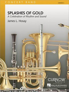 Splashes of Gold - Partitur