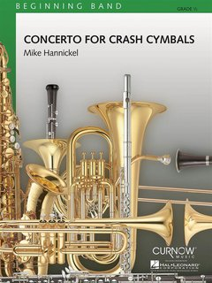 Concerto for Crash Cymbals - Set (Partitur + Stimmen)