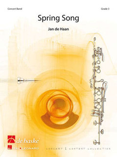 Spring Song - Set (Partitur + Stimmen)