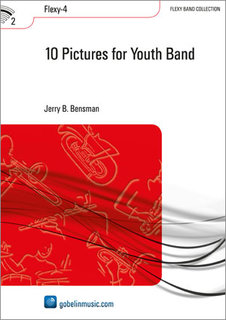 10 Pictures for Youth Band - Set (Partitur + Stimmen)