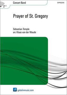 Prayer of St. Gregory - Partitur
