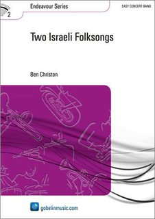 Two Israeli Folksongs - Partitur