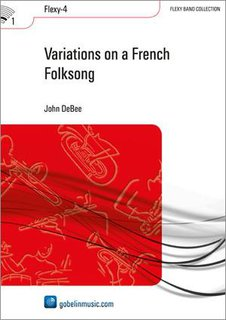 Variations on a French Folksong - Set (Partitur + Stimmen)