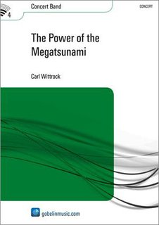 The Power of the Megatsunami - Partitur