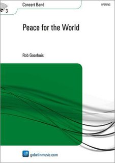 Peace for the World - Partitur