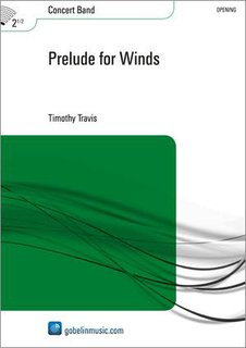 Prelude for Winds - Partitur