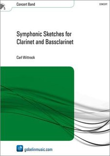 Symphonic Sketches for Clarinet and Bassclarinet - Partitur