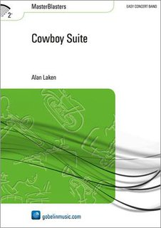 Cowboy Suite - Set (Partitur + Stimmen)