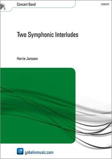 Two Symphonic Interludes - Partitur