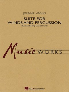 Suite for Winds and Percussion - Partitur