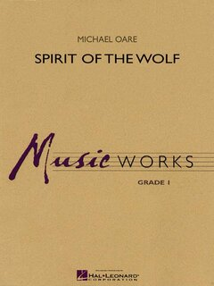 Spirit of the Wolf - Partitur