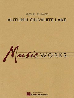 Autumn on White Lake - Partitur