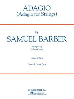 Adagio For Strings - Set (Partitur + Stimmen)
