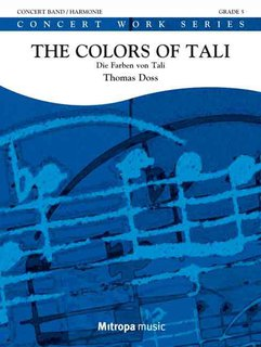 The Colors of Tali - Die Farben von Tali - Partitur