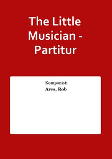 The Little Musician - Partitur