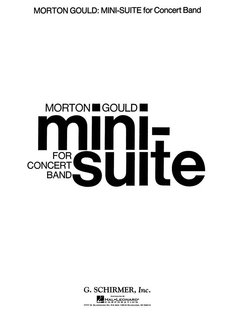 Mini Suite - Set (Partitur + Stimmen)