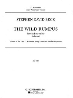 The Wild Rumpus - Partitur