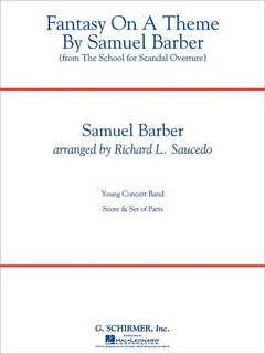 Fantasy On A Theme By Samuel Barber - Partitur