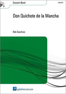 Don Quichote de la Mancha - Partitur