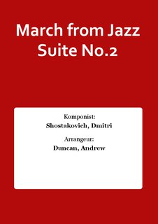 March from Jazz Suite No.2
