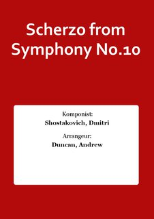 Scherzo from Symphony No.10