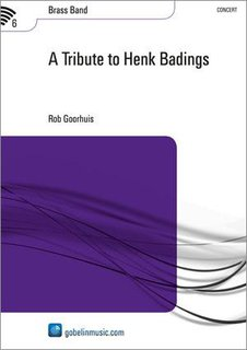 A Tribute to Henk Badings - Partitur