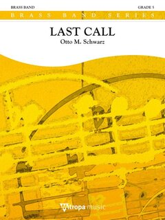 Last Call - Partitur