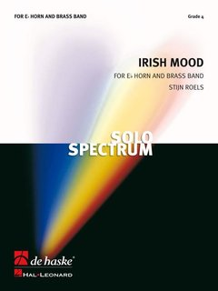 Irish Mood - Solo for Eb Horn and Brass Band - Set (Partitur + Stimmen)