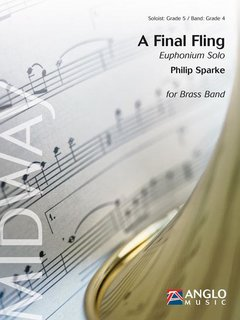 A Final Fling - Solo fuür Euphonium und Brass Band - Set (Partitur + Stimmen)