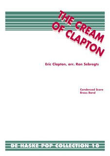The Cream of Clapton - Set (Partitur + Stimmen)