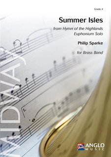 Summer Isles - from Hymn of the Highlands - Euphonium Solo - Partitur
