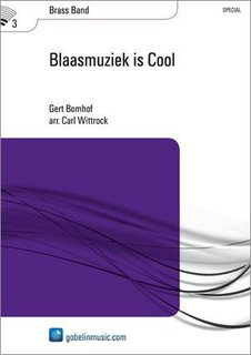 Blaasmuziek is Cool - Set (Partitur + Stimmen)