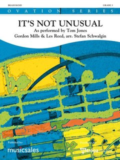 Its Not Unusual - As performed by Tom Jones - Partitur