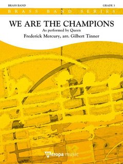 We Are the Champions - Partitur