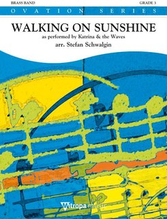 Walking on Sunshine - as performed by Katrina & the Waves - Partitur