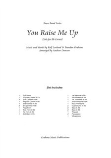 You Raise Me Up - Solo für Cornet - Partitur