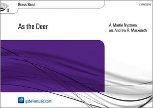 As the Deer - Partitur