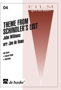 Theme from Schindlers List - Set (Partitur + Stimmen)