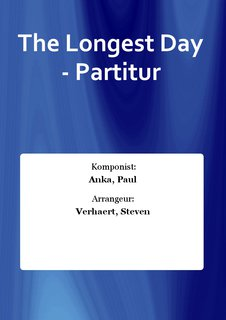 The Longest Day - Partitur