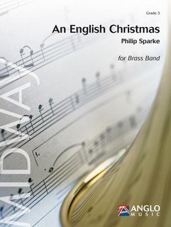 An English Christmas - A Festival of Carols for Band with optional SATB Choir - Partitur