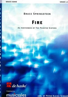 Fire - Partitur