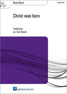 Christ was born - Partitur