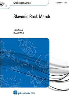 Slavonic Rock March - Set (Partitur + Stimmen)