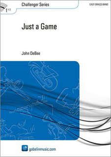 Just a Game - Partitur