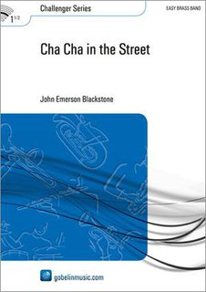 Cha Cha in the Street - Set (Partitur + Stimmen)