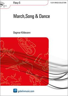 March,Song & Dance - Partitur