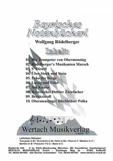 Bayerisches Notenb�cherl - 2. Posaune in C