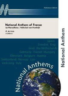 National Anthem of France - Partitur