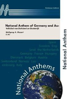 National Anthem of Germany and Austria - Partitur