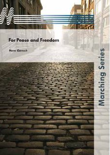 For Peace and Freedom - Partitur